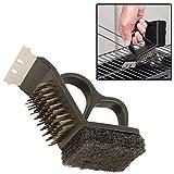 Guilty Gadgets 3-in-1-Werkzeug für Grill, Grill, Ofen, Grill, Ofen, Draht, Reinigung steif