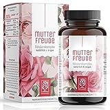 NATURTREU Bioaktive Folsäure Mönchspfeffer Kapseln - Bei Kinderwunsch - Vitex Agnus Castus + Vitamin B9 hochdosiert - Vegan - Hilfsmittel für Frauen vor und während der Schwangerschaft - 90 Kapseln