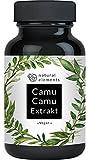 Camu-Camu Kapseln - Natürliches Vitamin C - Vergleichssieger 2018* - 120 vegane Kapseln im 4 Monatsvorrat - Ohne unerwünschte Zusätze – Laborgeprüft und hergestellt in Deutschland
