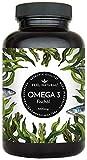 Omega 3 Fischöl Kapseln - 365 Kapseln im Jahresvorrat - Premium, hochdosiert mit 1000mg Fischöl je Kapsel und den Omega 3 Fettsäuren EPA und DHA - Ohne unerwünschte Zusätze, hergestellt in Deutschland