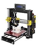 GUCOCO A8 Desktop DIY 3D Drucker Selbstmontage Prusa i3 Kit Upgradest High Precision Selbstbauen 3D Drucker mit LCD Bildschirm (Plattformgröße 200 * 200 * 180mm)