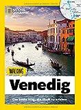 Venedig zu Fuß: Walking Venedig - Mit detaillierten Karten die Stadt zu Fuß entdecken. Der Reiseführer von National Geographic mit Insidertipps, Stadtspaziergängen und Touren für Kinder.