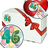 Geschenkeideen 46. Geburtstag - Geschenkkarton - 46 Jahre Geburtstag