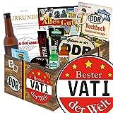 Bester Vati der Welt | Männer Geschenkset DDR | Geschenk Vatertag