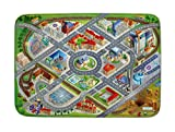 Spielteppich Ultrasoft - Rutschfest 100 x 150 cm (Stadt)