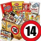 Ost Paket | Zahl 14 | Jubiläum Geschenkeideen | Ossi Süßigkeiten