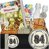 Geschenkidee 84. Geburtstag | Do It Yourself Set Schnaps | Geschenkeideen 84.