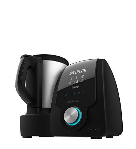 Cecotec 04096 Mambo Multifunktions Küchenroboter mit Digitalanzeige, 3,3 Liter 10, Schwarz