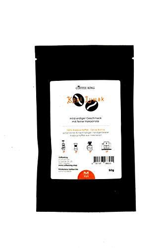 Der Kopi Luwak Katzenkaffee in einer 50g Packung von Coffee King