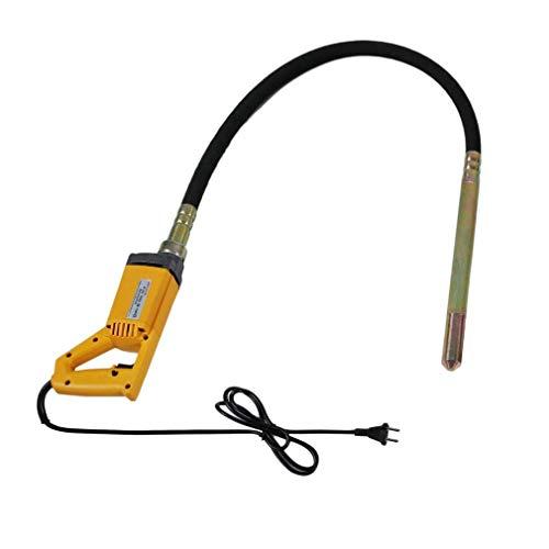1300W Elektro-Betonrüttler Handheld Betonrüttler(2m Schlauchlänge, 35 mm stahlverstärkte Rüttelflasche, bequemer Haltegriff)…