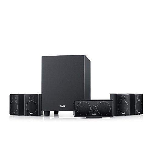 Teufel Consono 25 Mk3 5.1-Set Schwarz Heimkino Lautsprecher 5.1 Soundanlage Kino Raumklang Surround Subwoofer Movie High-End HiFi Speaker