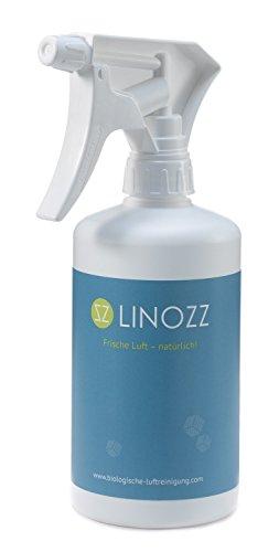 Biologischer Luftreiniger Linozz für zu Hause 500 ml. Entferner von Geruch in Küche, Haushalt, Auto, Tierzucht und Gewerbe