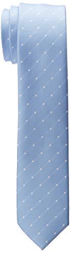 ESPRIT Collection Herren 998EO2Q805 Krawatte, Blau (Light Blue 440), One Size (Herstellergröße: 1SIZE)