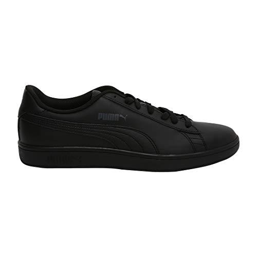Puma Smash v2 L, Unisex-Erwachsene Sneakers, Schwarz (Puma Black-Puma Black), 45 EU (10.5 UK)