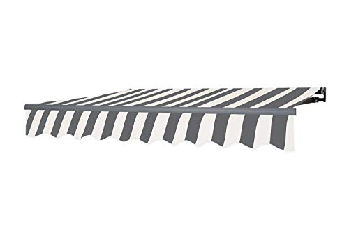 empasa Gelenkarmmarkise Markise Sonnenmarkise Sonnenschutz 3 x 2,5 m Alu/Polyester