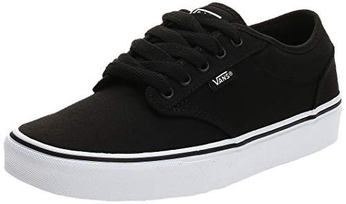 Vans Herren Atwood Canvas' Sneaker, Blk Wht 187, 42 EU