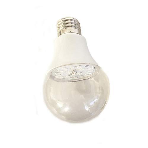 QWQW Keimtötende Lampe Uv-C Desinfektion Desinfektionlampe Antibakterielle Haus Luftreiniger,E27 Lichtanschluss/Geruch Beseitigen/Glühbirne-7W