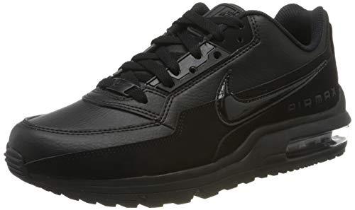 Nike Mens Air Max Ltd 3 Sneaker, Black/Black-Black, 43 EU
