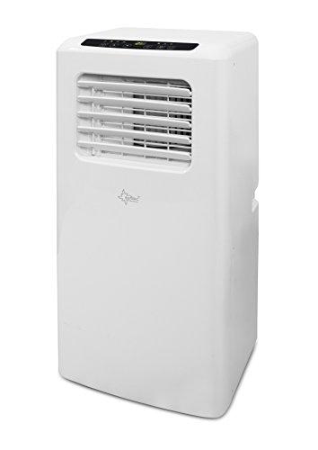 Mobiles lokales Klimagerät Impuls 2.6 Eco R290   für Räume bis 80 m3 (34 m2)   inkl. Abluftschlauch   Kühler und Entfeuchter mit ökologischem Kühlmittel R290   9.000 BTU/h, EEK A   Suntec Wellness