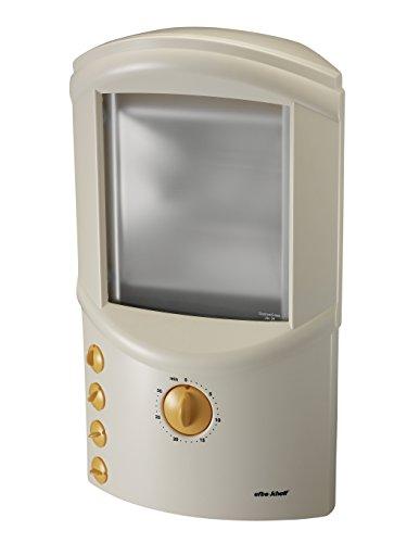 Efbe-Schott Oberkörpersolarium, 440 W, Memory-Funktion, Inklusive 2 Schutzbrillen, Weiß, SC OKB 912