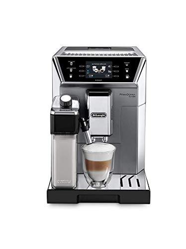 De'Longhi ECAM 556.75.MS Primadonna Class Kaffeevollautomat, Silber