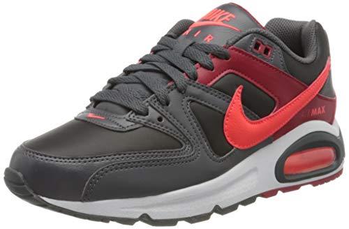 Nike Herren Air Max Command Traillaufschuhe, Mehrfarbig (Black/Bright Crimson-Dark Grey-Gym Red 051), 41 EU
