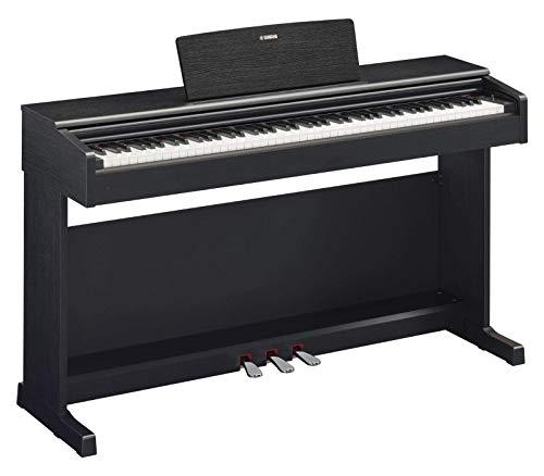 Yamaha Arius Digital Piano YDP-144B, schwarz – Elektronisches Klavier mit Hammermechanik, Konzertflügel-Klang & USB-to-Host-Anschluss – Kompatibel mit kostenloser App'Smart Pianist'