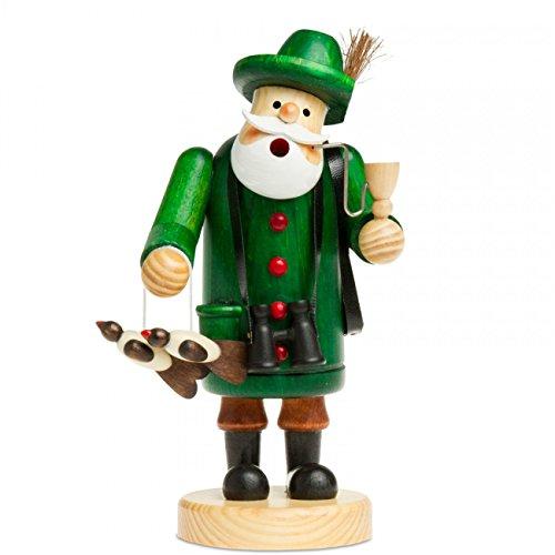 Sikora RM-A Räuchermännchen aus Holz 3 Größen Verschiedene Motive, Größe:Höhe ca. 19.5 cm, Farbe/Modell:A10 grün - Jäger