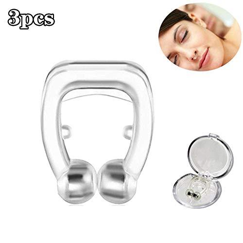 XY Nasenclip-Dilatatoren Magnetisches Anti-Schnarchen Atmen Sie Einfach Schlaf Nasenclip Schnarchstopper-Hilfe Nasendilatatoren Geräte-Nasenclips 3PCS
