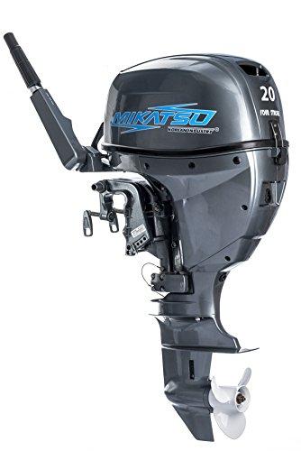 Mikatsu Außenborder MF20FHS: 4-Stroke 20PS Kurzschaft Bootsmotor Außenbordmotor …
