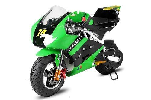 49cc Pocketbike PS50 Rocket Sport Tuning Kupplung 15mm Vergaser (Grün) 1130235