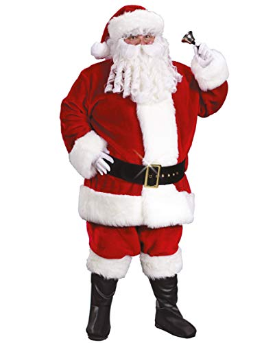 Horror-Shop Luxuriöses Weihnachtsmann Kostüm XXL