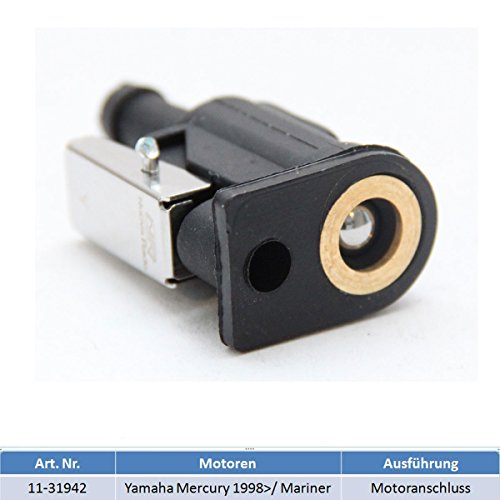 Motoranschluss Adapter Benzintank Außenborder für Yamaha, Mercury 1998 / Mariner