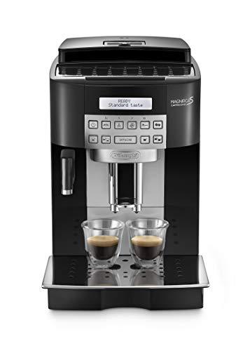 DeLonghi ECAM 22.360.B Kaffee-Vollautomat (1.8 Liter, 15 bar, 1450 Watt, Milchbehälter) schwarz