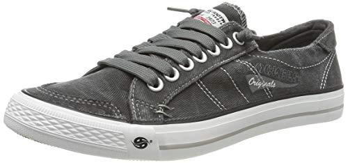 Dockers by Gerli Herren 30ST027 Sneaker - Grau (Grau 200) , 42 EU