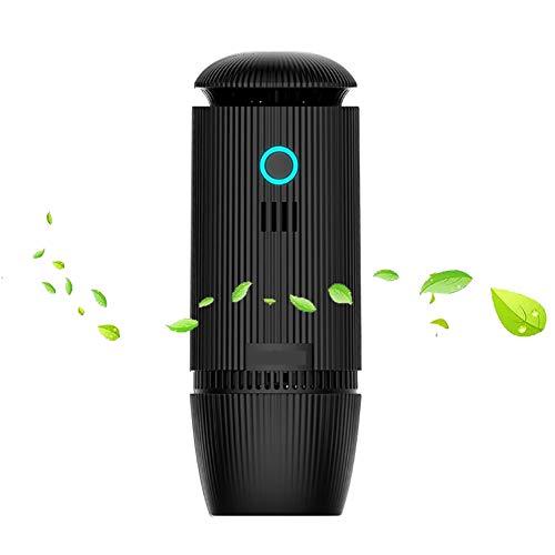Auto Luftreiniger Ionisator Luftbefeuchter, Verbesserte Mini Tragbare Geräuscharme Luftfilter Mit HEPA Filter, USB 70ML Ultraschall Diffusor Für Ätherische Öle, Beseitigen Geruch, Staub Und Pollen