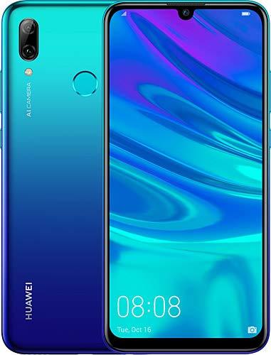 Huawei P smart 2019 64GB Hybrid-SIM Aurora Blue EU [15,77cm (6,21') LCD Display, Android 9.0, 13MP+2MP]