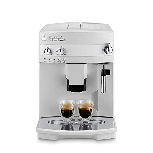 One Touch Coffee, Kaffeebohnenmühle Hersteller vollautomatische Kaffeemaschine, italienisches Büro frisch gemahlen, weißer Edelstahl