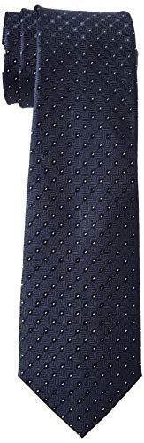 Strellson Premium Herren Tie Krawatte, Blau (Blue 410), Size (Herstellergröße: One)