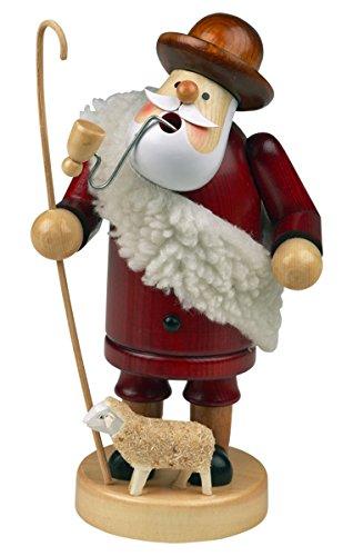 Räuchermännchen Räuchermann Räucherfigur Rauchfigur'Schäfer' ca. 18 cm hoch, aus Holz, Weihnachten Advent Geschenk (30104-18)