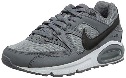 Nike Herren AIR MAX Command Laufschuhe, Grau (Cool Grey/Black/White 012), 45 EU