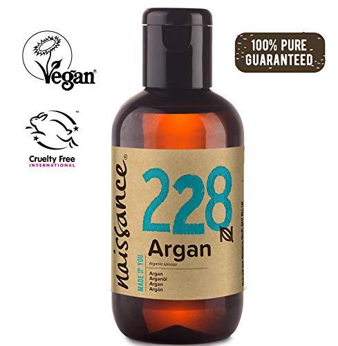 Naissance marokkanisches Arganöl (Nr. 228) 100ml - rein & natürlich - Pflegeöl für Gesicht, Haut, Haar, Bart & Nagelhaut