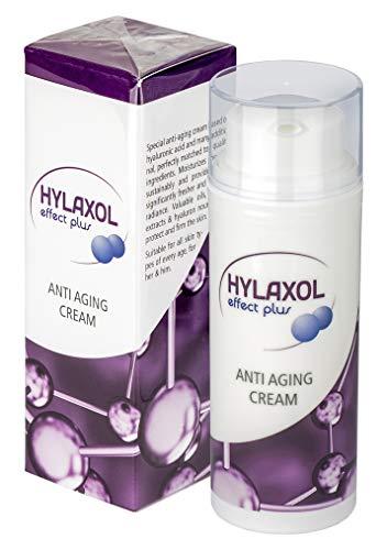 HYLAXOL - Hyaluronsäure Creme I Anti Aging Effekt I Reduziert Falten   Für eine schöne, straffe, faltenfreie und glatte Haut   Hyaluron Hochdosiert 50ml