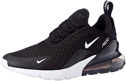 Nike Herren AIR MAX 270 Laufschuhe, Mehrfarbig (Black/Anthracite/White/Solar Red 002), 46 EU