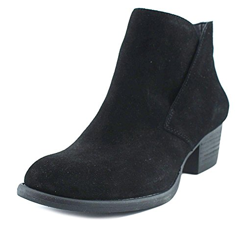 Jessica Simpson Womens Dacine Round Toe Ankle Boot, Black Suede