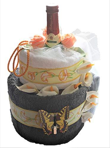 Handtuchtorte - Geburtstag - Geschenkkorb - Wellness - Beauty