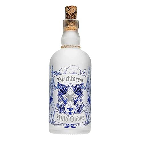 Blackforest Wild Vodka 40% Vol. (1 x 0,5 l) - Brennerei Wild aus Gengenbach - Schwarzwald Premium Vodka - Handcrafted und extrem reiner Premium Vodka