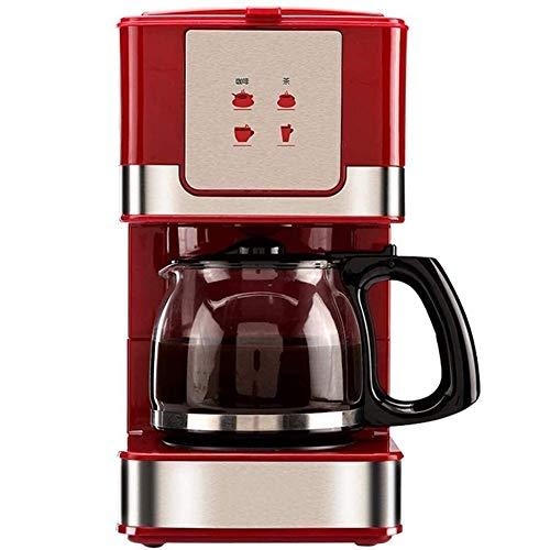 DWLXSH Kaffeemaschine (freistehend, vollautomatische, Kaffeemaschine, Cappuccino, Kaffee, Espresso, heiße Schokolade, Warmwasser, Latte Macchiato, Tee) mit 600ml Glas Abnehmbare Filter Grinder