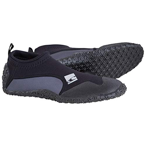 O'Neill Wetsuits Erwachsene Schuhe Reactor Reef Boots Surfschuhe, Black, 45