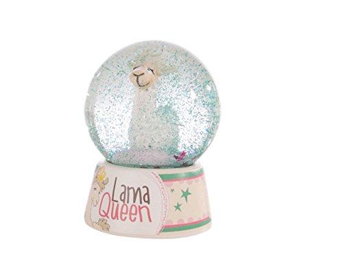 Nici 42262 La Lounge Schüttelkugel Dalia Lama Queen, 6,5 cm, beige/braun, Größe: ca